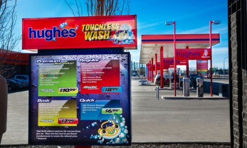 Hughes Touchless Wash